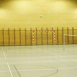 7cd3ab907a4 Badmintonbane Lej en badmintonbane hos Lindholm Badminton Klub her. Banen  må kun benyttes med indendørssko, der ikke laver mærker i gulvet.